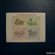 Timbres: LIQUIDACION-BERLIN-1969-BLOQUE EN NUEVO(**MNH)-ANIMALES;PAJAROS. Lote 254777760