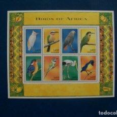 Sellos: /18.04/-LIQUIDACION-SIERRA LEONE-1999-SERIE COMPLETA EN NUEVO(**MNH)-PAJAROS. Lote 255518730