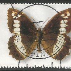 Sellos: ALEMANIA - 2005 - BIENESTAR - MARIPOSA CON BORDE LATERAL - BRENTECIA CIRCE - MI: 2503 - USADO. Lote 255549000