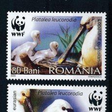 Sellos: RUMANIA 2006 IVERT 5154/7 *** FAUNA - AVES - PROTECCIÓN DE LA NATURALEZA. Lote 257837255