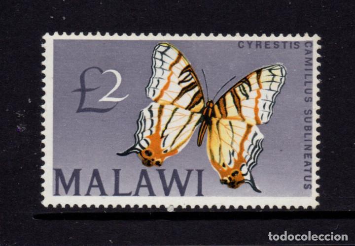 MALAWI 51** - AÑO 1966 - FAUNA - MARIPOSAS (Sellos - Temáticas - Fauna)