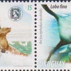 Sellos: ⚡ DISCOUNT URUGUAY 2014 MARINE FAUNA MNH - MAMMALS, LIFE OF THE SEA, SEALS. Lote 262874135