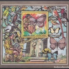 Timbres: F-EX25329 TOGO MNH 1990 WILDLIFE BUTTERFLIES MARIPOSAS PAPILLON BOYS SCOUTS.. Lote 271541138