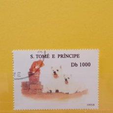 Sellos: SELLO TEMÁTICO S TOME E PRÍNCIPE - GAT. Lote 276064093