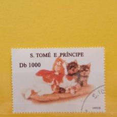 Sellos: SELLO TEMÁTICO S TOME E PRÍNCIPE - GAT. Lote 276064288
