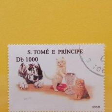 Sellos: SELLO TEMÁTICO S TOME E PRÍNCIPE - GAT. Lote 276064368