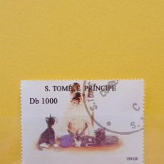 Sellos: SELLO TEMÁTICO S TOME E PRÍNCIPE - GAT. Lote 276064513