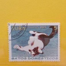 Sellos: SELLO TEMÁTICO CUBA - GAT. Lote 276064813