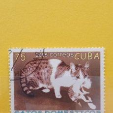 Sellos: SELLO TEMÁTICO CUBA - GAT. Lote 276064858