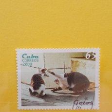 Sellos: SELLO TEMÁTICO CUBA - GAT. Lote 276065083