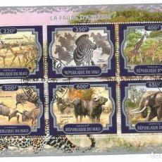 Timbres: HOJA BLOQUE DE MALI FAUNA AFRICANA. Lote 276337433