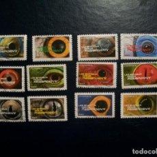 Selos: /20.07/-FRANCIA-SERIE COMPLETA EN USADO/º/-FAUHA-REPTILES. Lote 276525668