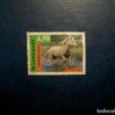 Sellos: /25.07/-FRANCIA-1998-2,70 FR. Y&T 3182 EN USADO/º/-ANIMALES DOMESTICOS-CABALLOS. Lote 277210058