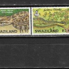 Sellos: SWAZILAND Nº 732 AL 735 (0). Lote 277725978