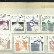 Sellos: SAHARA OCCIDENTAL 1992 LOTE SELLOS TEMATICA FAUNA - AVES. Lote 277838378