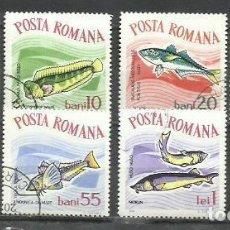 Sellos: 7200-SERIE COMPLETA RUMANIA 1964 Nº 2001/8 PECES, FAUNA MARINA, BONITOS. Lote 278606748
