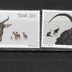 Sellos: SWA SUROESTE AFRICANO Nº 429 AL 432 (**). Lote 278938198