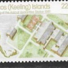 Sellos: COCOS ( KEELING ISLANDS Nº 65 AL 67 (**). Lote 278942583
