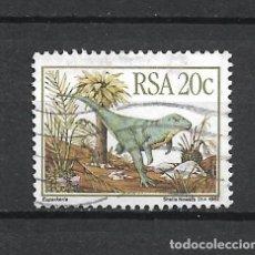 Selos: SELLO SUDAFRICA FAUNA DINOSAURIOS - 19/42. Lote 287699288