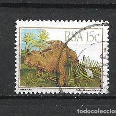 Selos: SELLO SUDAFRICA FAUNA DINOSAURIOS - 19/42. Lote 287699338