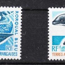 Sellos: TERRITORIO ANTÁRTICO Y AUSTRAL FRANCÉS - 1977 CETÁCEOS. Lote 287909663