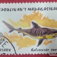Sellos: REPUBLIKAN MADAGASIKARA 1993. GALEOCERDO CUVIERI.. Lote 288231073