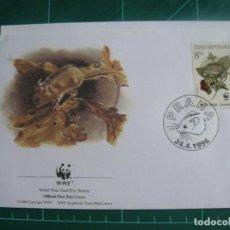 Sellos: SOBRE PRIMER DIA DE REPUBLICA CHECA 1996. Lote 292267533