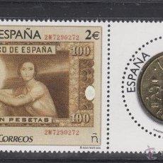 Sellos: ESPAÑA 5011/12** - AÑO 2015 - NUMISMATICA. Lote 203639662