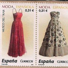 Sellos: FRAGMENTO CON DOS SELLOS NUEVOS DE MODA ESPAÑOLA 2008. Lote 124681227