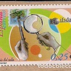 Sellos: FRAGMENTO CON SELLO NUEVO DE DÍA DEL SELLO 2002. Lote 124681407