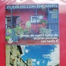 Sellos: ESPAÑA 5126/29** - AÑO 2017 - PUEBLOS CON ENCANTO. Lote 197151455