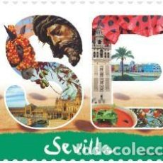 Sellos: ESPAÑA 2018 12 MESES, 12 SELLOS. SEVILLA ED 5259. Lote 136420978