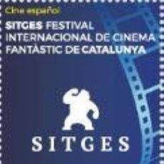 Sellos: ESPAÑA 2018 CINE ESPAÑOL. FESTIVAL DE SITGES ED 5260. Lote 136421054