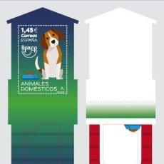 Sellos: ESPAÑA 2018 AMÉRICA UPAEP. ANIMALES DOMÉSTICOS ED 5267. Lote 136421314
