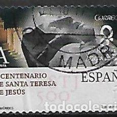 Sellos: SELLO ESPAÑA. USADO. 2015. EDIFIL 4930, V CENTENARIO DE SANTA TERESA DE JESÚS. Lote 143386186