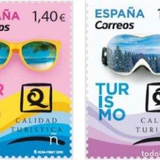 Sellos: ESPAÑA 2019 TURISMO: MAR Y MONTAÑA MNH ED 5284-85 MI 5316-17 YT 5014-15 SC . Lote 147915258