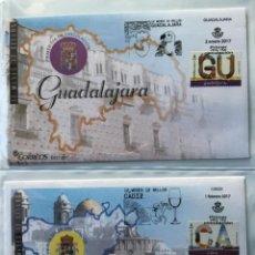 Sellos: ESPAÑA 2017 - COLECCIÓN COMPLETA SOBRES PRIMER DÍA AÑO 2017. Lote 151260514