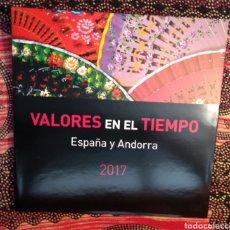 Sellos: VALORES EN EL TIEMPO 2017. Lote 151981521