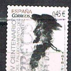 Sellos: EDIFIL Nº 5025. IV CENTENARIO DE CERVANTES, USADO. Lote 152034382