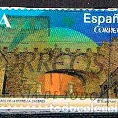 Sellos: EDIFIL Nº 4840, CACERES, ARCO DE LA ESTRELLA, USADO. Lote 152034778