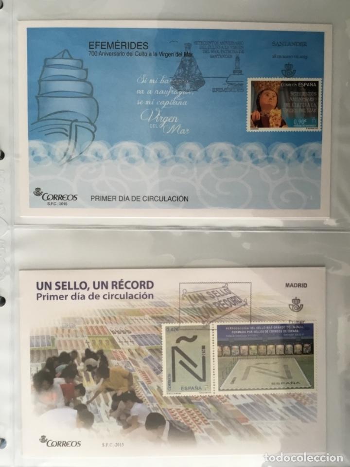 Sellos: España 2015 - Colección Sobres primer día 2015 - Foto 23 - 152371074