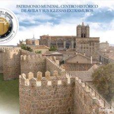 Sellos: [CF2329A] ESPAÑA 2019, HB UNESCO. PATRIMONIO MUNDIAL ESPAÑOL: AVILA (MNH). Lote 194908560