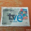 Sellos: SELLO USADO ESPAÑA 2016. 60 ANIVERSARIO DE TVE. EDIFIL Nº 5098. Lote 160484310
