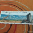 Sellos: SELLO USADO ESPAÑA 2015 - ARQUITECTURA RURAL. SILO. Lote 160492870
