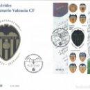 Sellos: EFEMÉRIDES. CENTENARIO DEL VALENCIA CF. SOBRE PRIMER DÍA DE CIRCULACIÓN 18-MARZO-2019. LUJO.. Lote 165854818