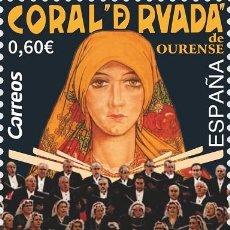 Sellos: [CF7251A] ESPAÑA 2019, CENTENARIO CORO 'LA CORAL DE RUADA'. ORENSE (MNH). Lote 172111129