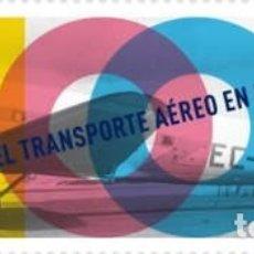 Sellos: [CF2472] ESPAÑA 2019, CENTENARIO DEL TRANSPORTE AÉREO EN ESPAÑA (MNH). Lote 177577123