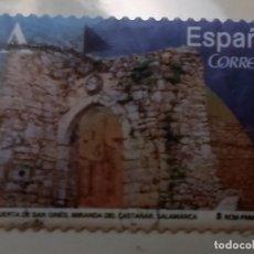 Sellos: ESPAÑA 2014 USADO PUERTA DE SAN GINES (MIRANDA DEL CASTAÑAR - SALAMANCA) TARIFA A. Lote 178832521