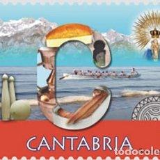 Sellos: [CF2505] ESPAÑA 2019, 12 MESES, 12 SELLOS: CANTABRIA (MNH). Lote 179211540