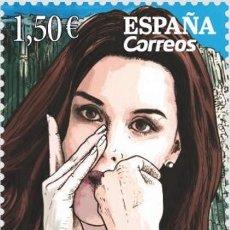 Sellos: [CF2646] ESPAÑA 2019, 10 ANIV. PATRIMONIO INMATERIAL DE LA HUMANIDAD. SILBO GOMERO (MNH). Lote 183347466